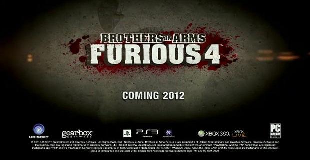 Brothers in Arms: Furious 4 ecco le dichiarazione di Pitchford