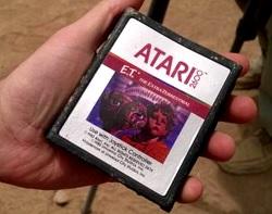 Cartucce Atari del videogioco E.T. scovate nel New Mexico