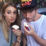 Belen e Stefano, colazione a New York con i cupcake