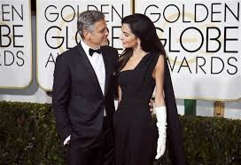 George Clooney, primo red carpet da sposato ai Golden Globe