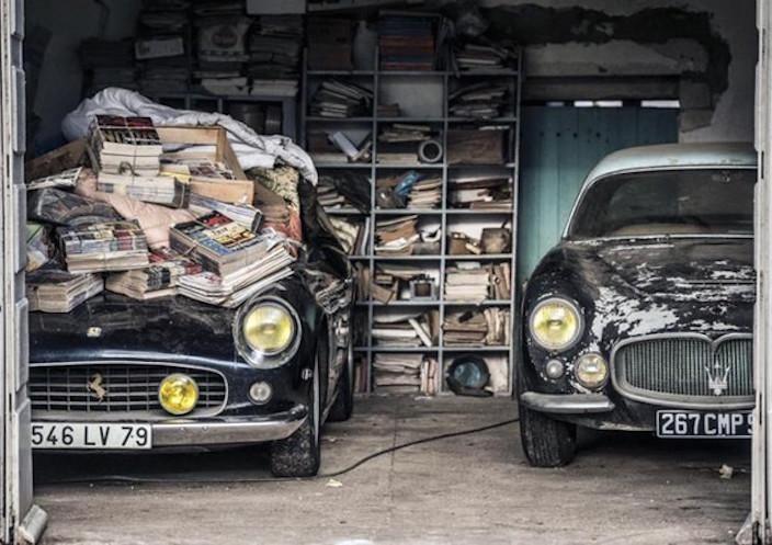 Ritrovata la Ferrari appartenuta ad Alain Delon