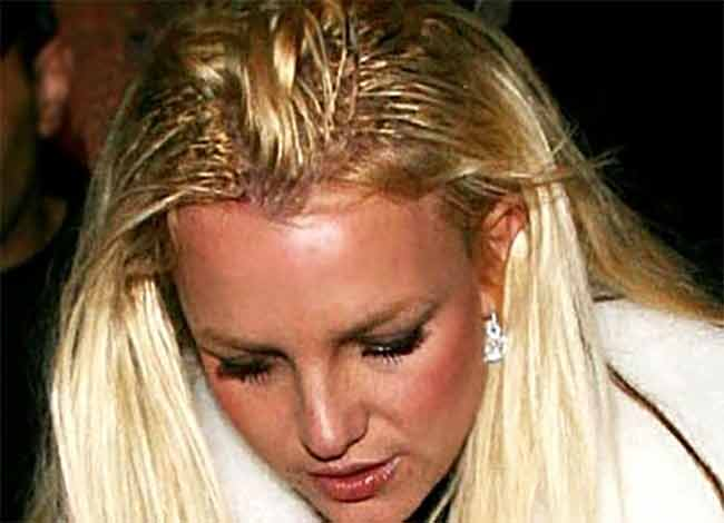 Britney Spears le extension cadono come Madonna