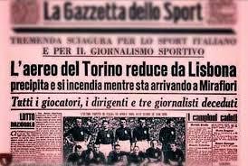 Torino Empoli non si giocherà il 4 maggio per rendere omaggio alle vittime di Superga