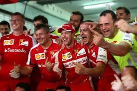Ferrari per la vittoria in Malesia, arrivano anche i complimenti di Schumi