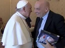 Paolo Brosio incontra il papa e stavolta non è uno scherzo