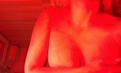 Lady Gaga: foto hot nella sauna