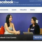 Facebook arriva il live streaming ma solo per pochi