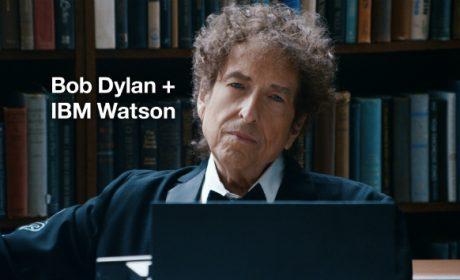 Bob Dylan e il computer IBM, il simpatico spot