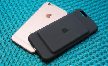 Apple Smart Battery Case, cover che aumenta l'autonomia di iPhone 6/6s