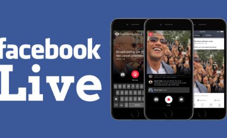 Facebook, funzione Live anche per i brand
