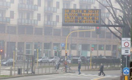 L'emergenza smog non si ferma
