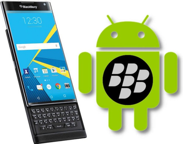 BlackBerry, nel 2016 solo device con Android