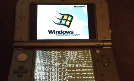Hacker installa Windows 95 sul Nintendo 3DS XL