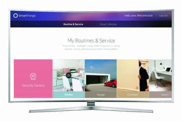 La TV Samsung diventa il cervello della casa