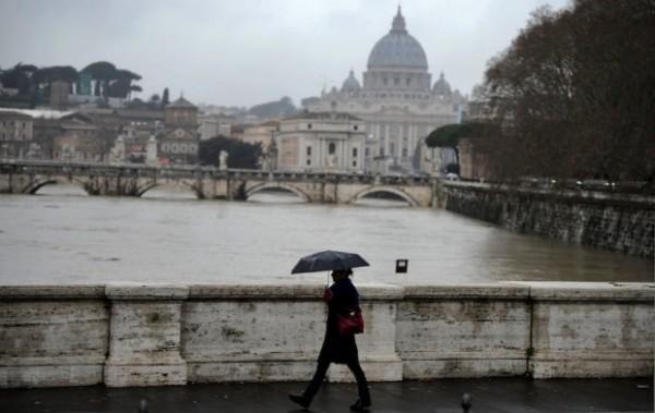 Roma, pioggia non sufficiente per ridurre PM10