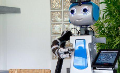 E' nato il primo robot portiere, sorveglia il condominio e consegna la posta