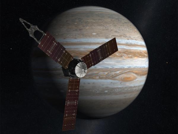 JUNO alla scoperta di Giove dal 4 luglio