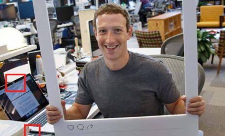 Mark Zuckerberg e lo scotch anti-hacker