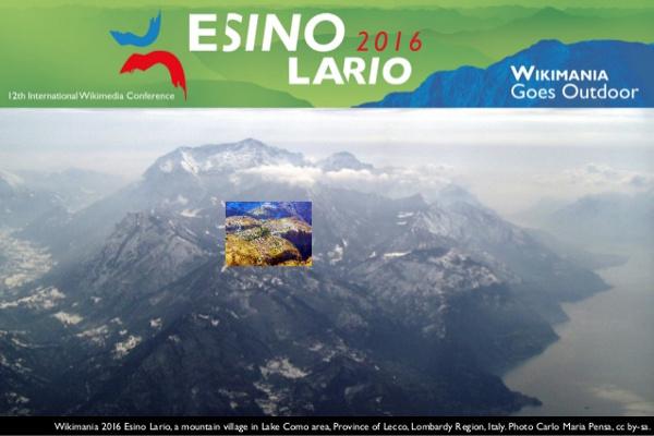 Wikimania 2016, la convention di Wikipedia a Esino Lario