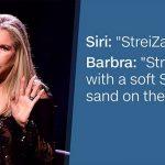 Siri, se Barbra Streisand si arrabbia con Tim Cook