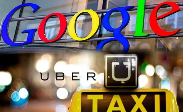 Google contro Uber: prima amiche, ora rivali