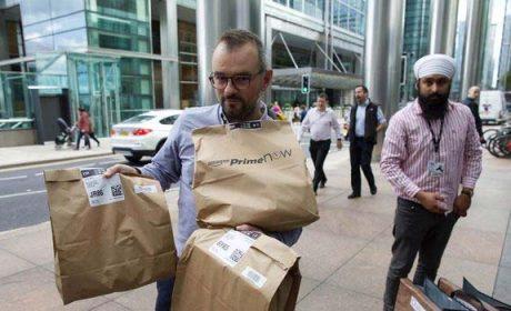 Amazon diventa corriere espresso?