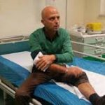 Striscia la Notizia aggressione per Luca Abete